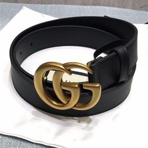 🌟NWT GSignature Belt 85CM By Gucci